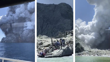The volcanic eruption in NZ.