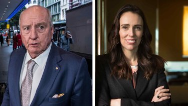 "Jacinda Ardern once called Alan Jones a ""git""."