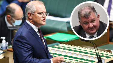 "Prime Minister Scott Morrison said his views ""do not align"" with those of Liberal backbencher Craig Kelly."