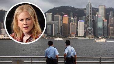 Nicole Kidman received a rare quarantine exemption from the Hong Kong government to fly into the city last week to begin filming Expats