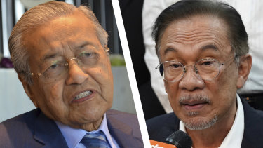 The race to become the next Malaysian prime minister is shaping up as a contest between Mahathir Mohamad and Anwar Ibrahim, two men who have alternated as allies and enemies for more than two decades.