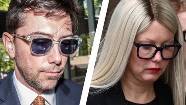 Businesswoman Elaine Stead, right, won her defamation action against The Australian Financial Review and its columnist Joe Aston, left.