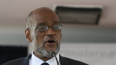 Ariel Henry, the new prime minister of Haiti.