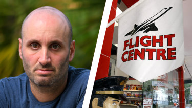 Adam Glezer was among disgruntled Flight Centre customers considering lodging a class action to get their money back.