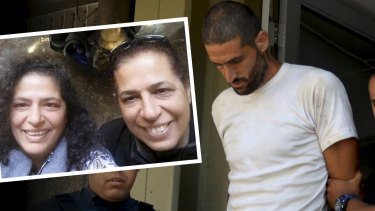 Nicolas Gil Pereg is accused of killing his mother Pyrhia Sarusi and his aunt, Lily Pereg.