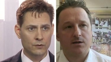 Beijing arrested Canadians Michael Kovrig, left, and Michael Spavor, shortly after Huawei's CFO was detained in Vancouver.