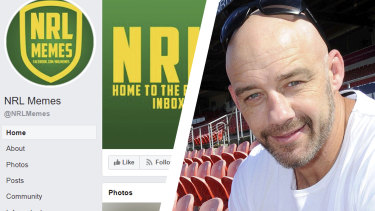 Mark Geyer's daughter is taking the creator of Facebook page NRL Memes to court.