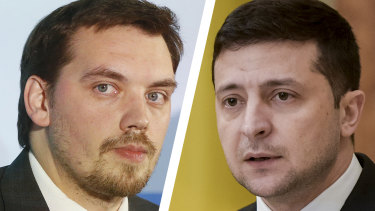 Ukraine's PM Oleksiy Honcharuk was caught on tape saying President Volodymyr Zelenskiy knows nothing about the economy.