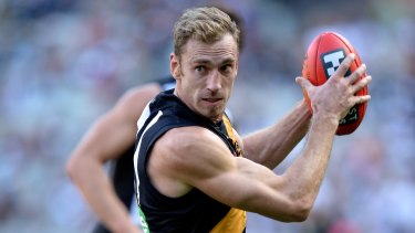 Shane Tuck in action for Richmond in 2013.