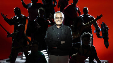 Stan Lee created a cavalcade of much-loved superheroes.