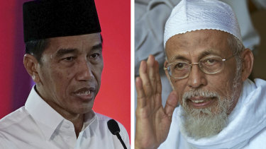 Indonesian President Joko Widodo had earlier ordered a review into the release plan of radical cleric Abu Bakar Bashir.