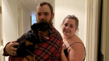 Buddy back with his rightful owners on Friday, March 10 - just in time for the Easter long weekend.