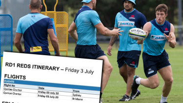 The Waratahs have a big day ahead of them on Friday.