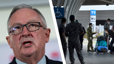 NSW Health Minister Brad Hazzard said his government would be in contact with international airlines in the next 48 hours to review crew quarantine arrangements.