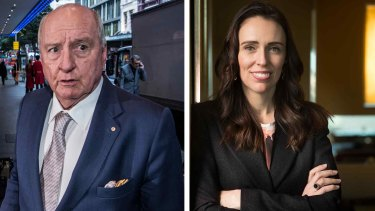 Alan Jones' letter to New Zealand's Prime Minister Jacinda Ardern has been obtained under freedom of information laws.