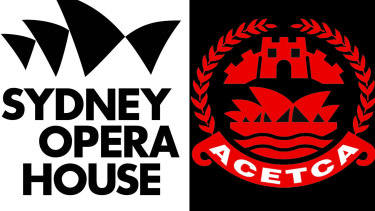 Sydney Opera House logo andthe logo of the Australia China Economics, Trade & Culture Association.