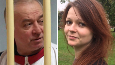 Former Russian spy Sergei Skripal and his daughter Yulia.