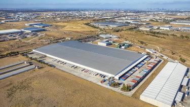 Kmart's warehouse at Truganina, Melbourne.