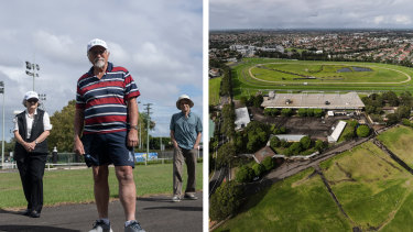 The Australian Turf Club insists it has no plans to sell the track but residents are suspicious.