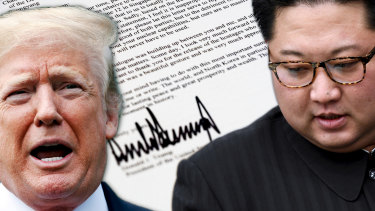 US President Donald Trump now says officials are working towards a planned summit with North Korean leader Kim Jong-un.