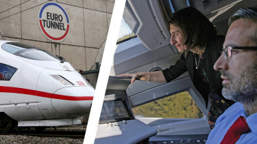 Premier Gladys Berejiklian has visions of fast trains in NSW, just like the ones in Germany.