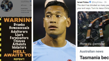 Israel Folau's controversial social media posts have finally seen Rugby Australia terminate his contract.