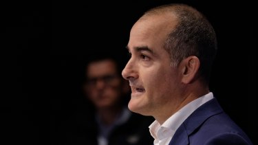 """""""Not good enough"""": Mental Health Minister James Merlino, pictured with the Premier, on the latest data."""