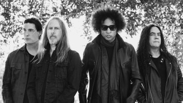 Alice In Chains return to Australia this  month for Download Festival in Sydney and Melbourne.