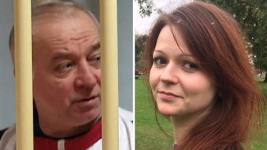 Poisoned: Former Russian spy Sergei Skripal and his daughter Yulia Skripal.