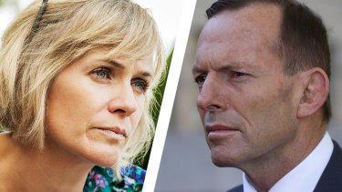 Zali Steggall is on track to comprehensively defeat Tony Abbott in Warringah, according to new polling.
