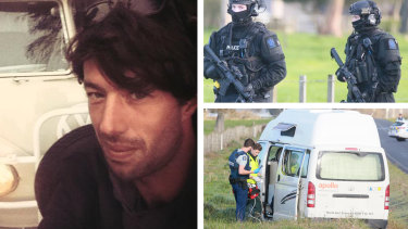 Sean McKinnon was killed in the campervan he and his fiance Bianca Buckley were travelling in.