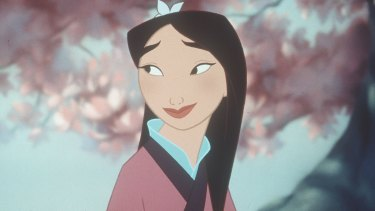The Disney classic Mulan.