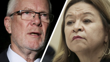 ABC chairman Justin Milne told managing director Michelle Guthrie to fire journalists that had angered the government.