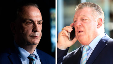Peter V'landys and Phil Gould.
