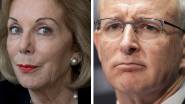 ABC chairwoman Ita Buttrose   and Communications Minister Paul Fletcher are engaged in a tussle over perceived bias.