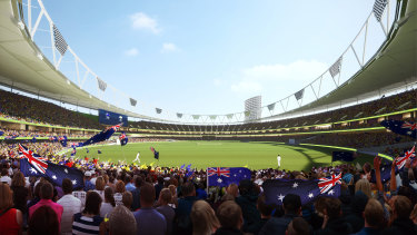 A redeveloped Gabba would be the main stadium at the 2032 Brisbane Olympic Games.