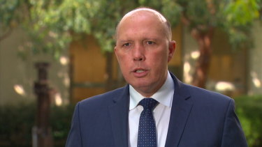 Peter Dutton eventually apologised  for his comments about Labor candidate for Dickson Ali France.