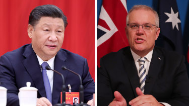 """Prime Minister Scott Morrison last week extended an olive branch to China, saying Australia wanted nothing more than """"happy coexistence"""" with its largest trading partner."""