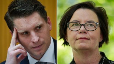 Canning MP Andrew Hastie and shadow trade spokeswoman Madeleine King have swapped barbs over Australia's relationship with China.