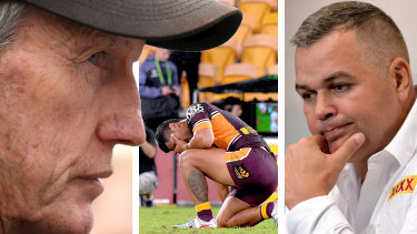 Wayne Bennett seems intent on going after the Broncos and the man who replaced him at the club, Anthony Seibold
