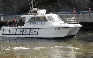 Police divers found a number of items during a search in the Parramatta River.