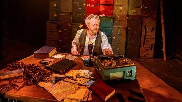 Jonathan Biggins dug deep in Krapp's Last Tape and struck gold.