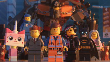 A movie with 523 characters: The Lego Movie 2: The Second Part