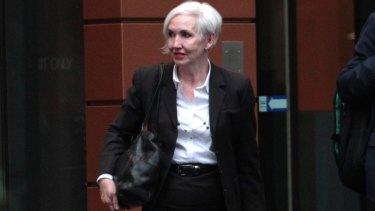 Fair Work Commissioner Donna McKenna threw her financial 'advice' in the bin.