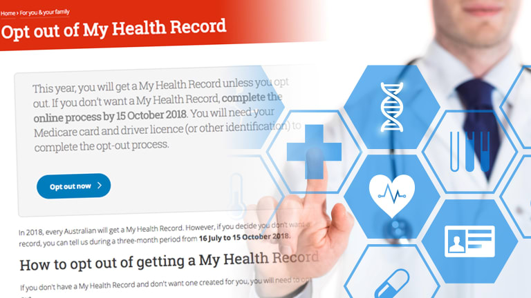 The federal government has been criticised for shifting My Health Record to an opt-out system.