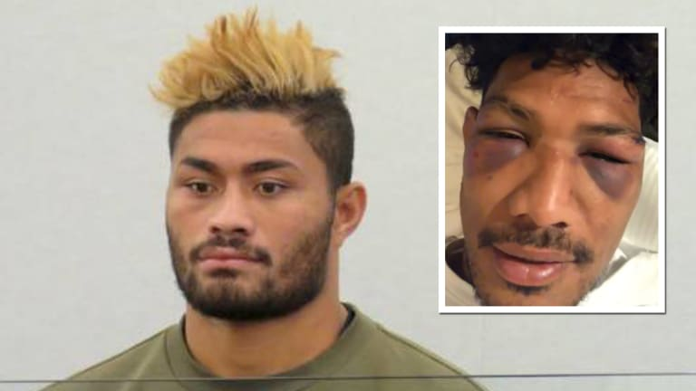 'I thought I was going to die': Timani claims he was repeatedly bashed and bundled into a car by Amanaki Mafi.