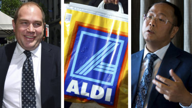Former NSW Labor general secretary Jamie Clements denies receiving an Aldi bag containing $100,000 from Huang Xiangmo.