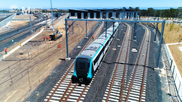 Construction on the Metro West rail line is expected to begin next year.