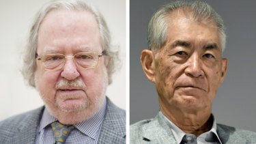 American James Allison and Japanese Tasuku Honjo developed therapies for treating cancer.