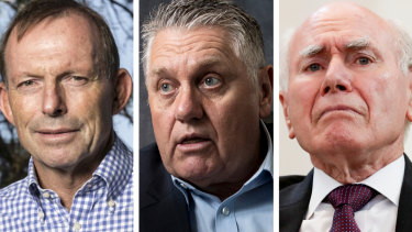 Ray Hadley has condemned John Howard and Tony Abbott for 'gross errors of judgment'
